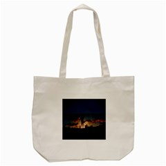 Art Sunset Anime Afternoon Tote Bag (cream) by BangZart