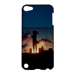 Art Sunset Anime Afternoon Apple Ipod Touch 5 Hardshell Case by BangZart