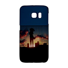 Art Sunset Anime Afternoon Galaxy S6 Edge by BangZart