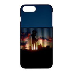 Art Sunset Anime Afternoon Apple Iphone 7 Plus Hardshell Case by BangZart