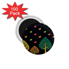Vector Color Tree 1 75  Magnets (100 Pack)