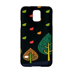 Vector Color Tree Samsung Galaxy S5 Hardshell Case  by BangZart