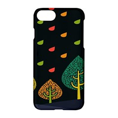 Vector Color Tree Apple Iphone 7 Hardshell Case by BangZart