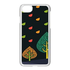 Vector Color Tree Apple Iphone 7 Seamless Case (white) by BangZart