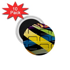 Colorful Docking Frame 1 75  Magnets (10 Pack)