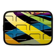 Colorful Docking Frame Netbook Case (medium)