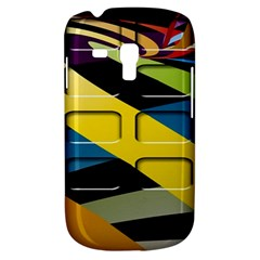 Colorful Docking Frame Galaxy S3 Mini by BangZart