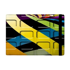 Colorful Docking Frame Ipad Mini 2 Flip Cases by BangZart