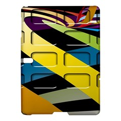 Colorful Docking Frame Samsung Galaxy Tab S (10 5 ) Hardshell Case  by BangZart