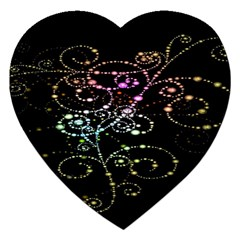 Sparkle Design Jigsaw Puzzle (heart) by BangZart