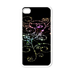 Sparkle Design Apple Iphone 4 Case (white) by BangZart