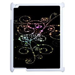 Sparkle Design Apple Ipad 2 Case (white) by BangZart