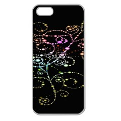 Sparkle Design Apple Seamless Iphone 5 Case (clear) by BangZart