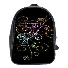 Sparkle Design School Bags (xl)  by BangZart
