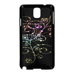 Sparkle Design Samsung Galaxy Note 3 Neo Hardshell Case (black) by BangZart