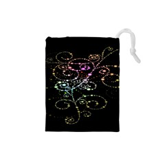 Sparkle Design Drawstring Pouches (small)  by BangZart