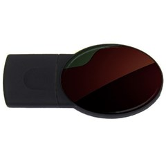 Color Vague Abstraction Usb Flash Drive Oval (4 Gb) by BangZart
