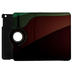 Color Vague Abstraction Apple Ipad Mini Flip 360 Case by BangZart