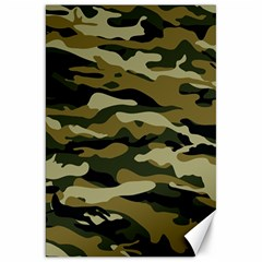 Military Vector Pattern Texture Canvas 20  X 30   by BangZart