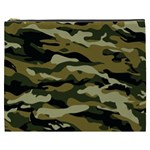 Military Vector Pattern Texture Cosmetic Bag (XXXL)  Front
