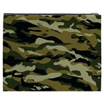 Military Vector Pattern Texture Cosmetic Bag (XXXL)  Back