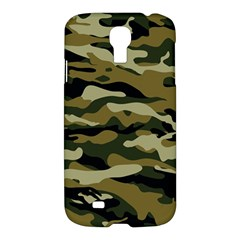 Military Vector Pattern Texture Samsung Galaxy S4 I9500/i9505 Hardshell Case by BangZart