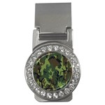 Military Camouflage Pattern Money Clips (CZ)  Front