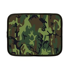 Military Camouflage Pattern Netbook Case (small)  by BangZart