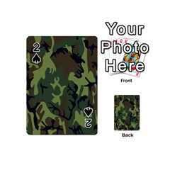 Military Camouflage Pattern Playing Cards 54 (mini)  by BangZart