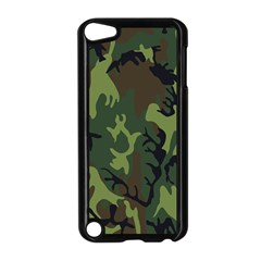Military Camouflage Pattern Apple Ipod Touch 5 Case (black) by BangZart