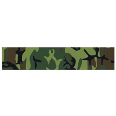 Military Camouflage Pattern Flano Scarf (small) by BangZart