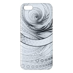 Enso, A Perfect Black And White Zen Fractal Circle Iphone 5s/ Se Premium Hardshell Case by jayaprime