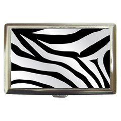 White Tiger Skin Cigarette Money Cases by BangZart