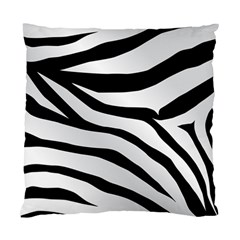 White Tiger Skin Standard Cushion Case (two Sides) by BangZart