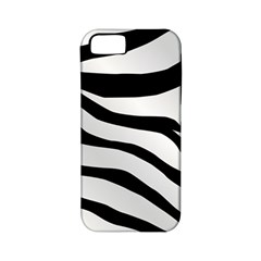 White Tiger Skin Apple Iphone 5 Classic Hardshell Case (pc+silicone) by BangZart