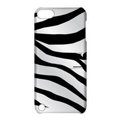 White Tiger Skin Apple Ipod Touch 5 Hardshell Case With Stand by BangZart