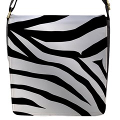 White Tiger Skin Flap Messenger Bag (s) by BangZart