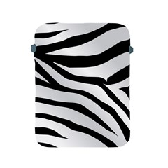White Tiger Skin Apple Ipad 2/3/4 Protective Soft Cases by BangZart