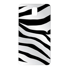 White Tiger Skin Samsung Galaxy Note 3 N9005 Hardshell Back Case by BangZart