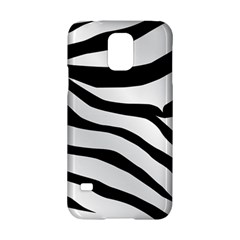 White Tiger Skin Samsung Galaxy S5 Hardshell Case  by BangZart