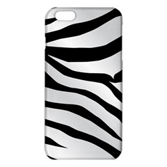 White Tiger Skin Iphone 6 Plus/6s Plus Tpu Case by BangZart