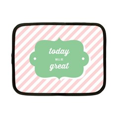 Today Will Be Great Netbook Case (small)  by BangZart