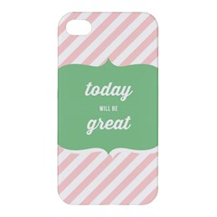 Today Will Be Great Apple Iphone 4/4s Hardshell Case