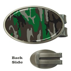 Army Green Camouflage Money Clips (oval)  by BangZart