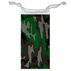 Army Green Camouflage Jewelry Bag