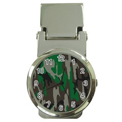 Army Green Camouflage Money Clip Watches by BangZart