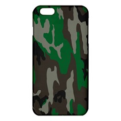 Army Green Camouflage Iphone 6 Plus/6s Plus Tpu Case by BangZart