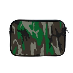 Army Green Camouflage Apple Macbook Pro 13  Zipper Case by BangZart