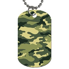 Camouflage Camo Pattern Dog Tag (one Side) by BangZart