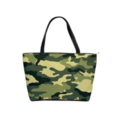 Camouflage Camo Pattern Shoulder Handbags by BangZart